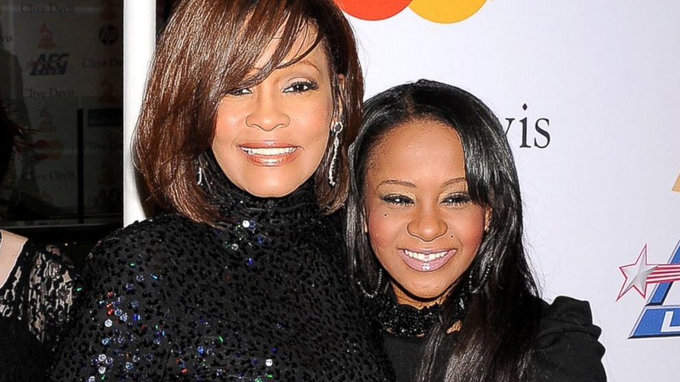 Whitney Houton with Bobbi Kristina
