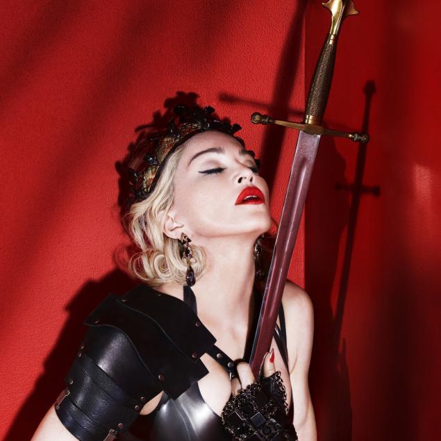 Madonna pierced by a sword